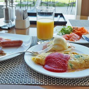 ヒルトン東京お台場の朝食は絶景のシースケープで