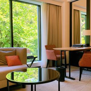 シェラトン都ホテル東京【宿泊記】みやびフロアデラックスへアップグレード