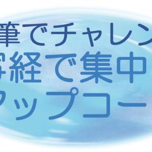 【5回完結レッスン】7:硬筆でチャレンジ 写経で集中力アップコース