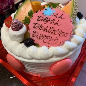 誕生日パーティなり。