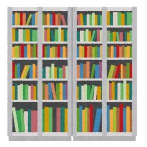 狭小住宅の本棚スペース削減に有効な一手法(お勧め)