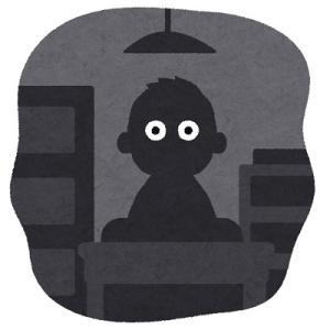 就寝時間中の停電復帰後に点灯した照明器具に起こされる