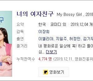 韓映画と車椅子の美女