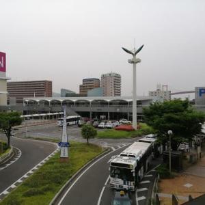 JR戸畑駅とハングル