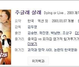 韓国映画と拳法と精液