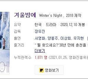 韓国映画と冬の春川