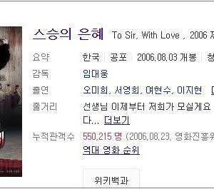 韓映画で教師残酷物語