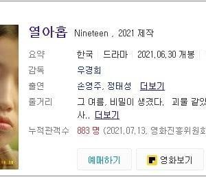 韓国映画と数えの19
