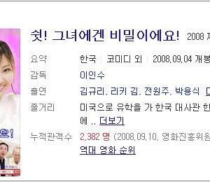 韓国映画とFBI要員