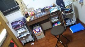 四連休初日は模様替えを頑張って次女の部屋を作りました!