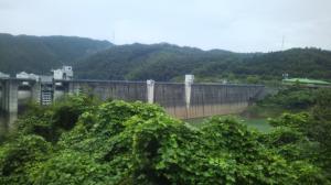 家族で日吉ダムに行ってきたよ(*^_^*)