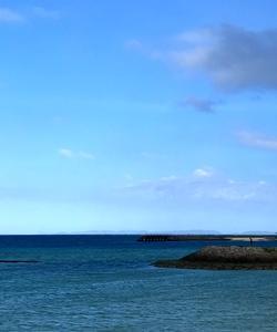晴れ時々雨の沖縄