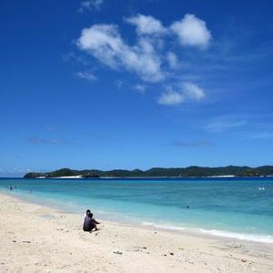 夏の沖縄は運次第