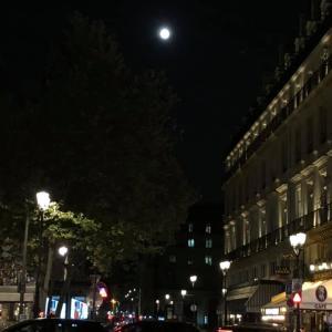 中秋の名月 in パリ