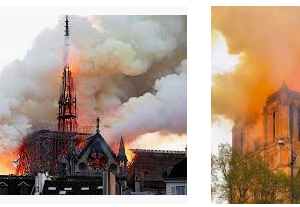 ノートルダムの火事