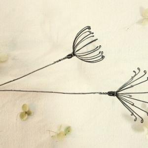 針金の花作りワークショップ