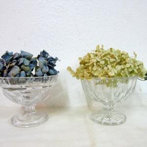 昭和レトロなガラスのデザートカップ