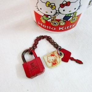 キティちゃんの小さな錠鍵