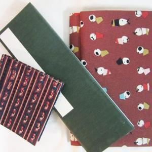 布装丁の紙モノ