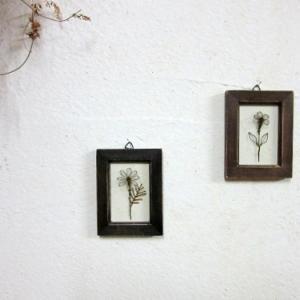 針金の花のミニフレーム