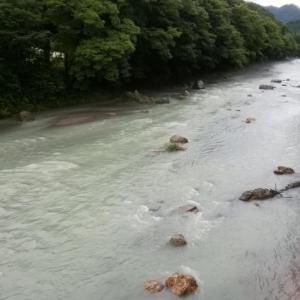 7月7日 朝の佳月橋