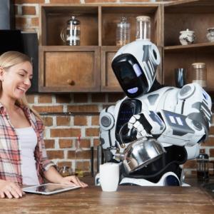 ロボットのパートナーを持つトレード