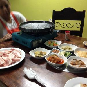 韓国料理最高。カムサハムニダ
