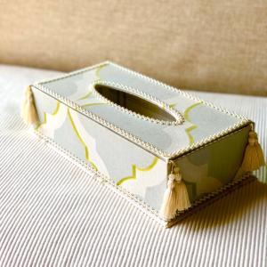 キットで作れるティッシュボックス