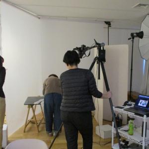 日本ヴォーグ社にCRAFTINGの作品撮影に行ってきました