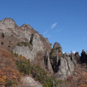 妙義山をドライブ