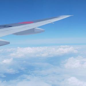 飛行機の窓から眺める景色…いつもと違う景色を見ることって大切です。
