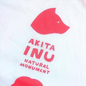 秋田犬Tシャツ。