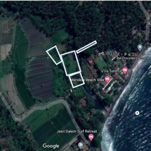 【終了しました】バリ島ビーチフロントの売地:約3600万円。