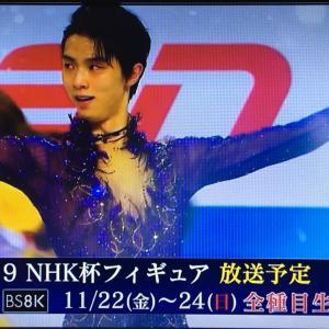 東京のお部屋決定! + NHK杯は札幌で応援!全種目生中継♪