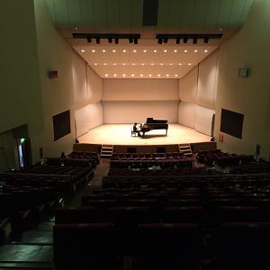 練習会 in コンサートホール