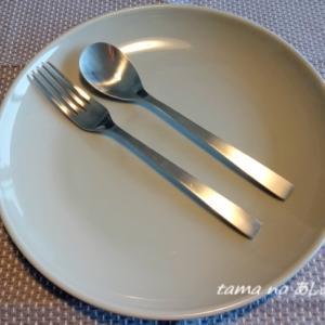 ちょっとの違いで使いやすさ抜群・・お気に入りのディナースプーン・・