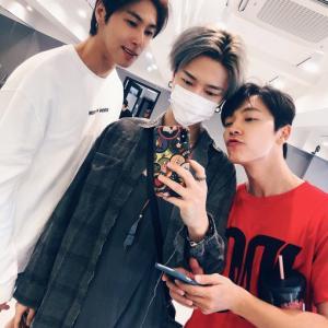 SJ&TVXQ、同期組は相変わらず仲良しです♪