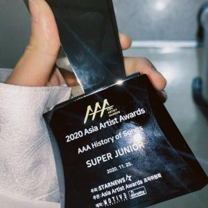 2020 Asia Artist AwardsでHISTORY OF SONGS AWARD受賞
