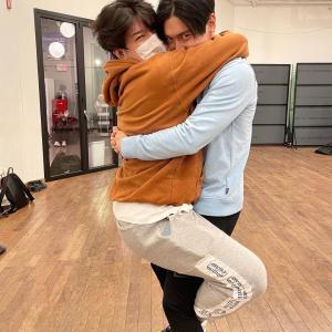 シウォンとシンドンの熱き抱擁からのドンヘのヒョク愛♥(笑)