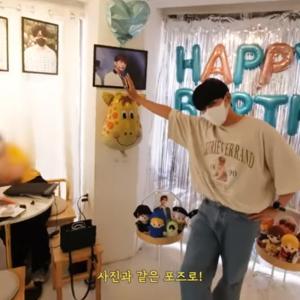 ドンヘ、Haru & Onedayでリョウクの誕生日をさりげなく祝う♡