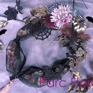 秋のレッスン-1【淑女のための ハロウィン・リース】