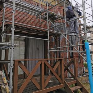 外壁タイル改修工事