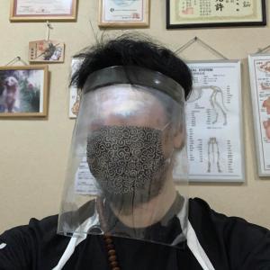 【ウイルス感染防止マスク】自作