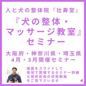 大阪府・神奈川県・埼玉県 4月・5月開催セミナー