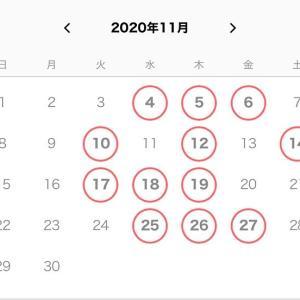 ☆★11月の予約日程を公開しました★☆