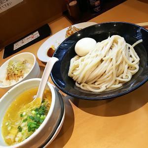 生姜にんにく塩つけめん&ねぎメンマ丼&焼餃子  古河市  麺堂稲葉