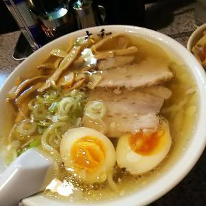 佐野市  大和でメンマラーメン味玉&チャーシュー丼&焼餃子3個