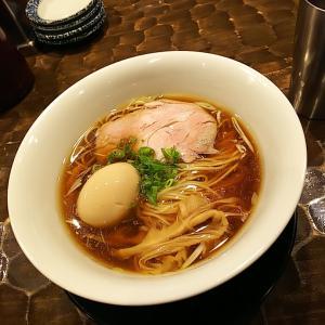 土浦市  特級鶏蕎麦 龍介  中華そば味玉
