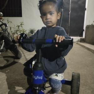 目立つ自転車