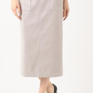 <icb>ストレッチスウェードスカート